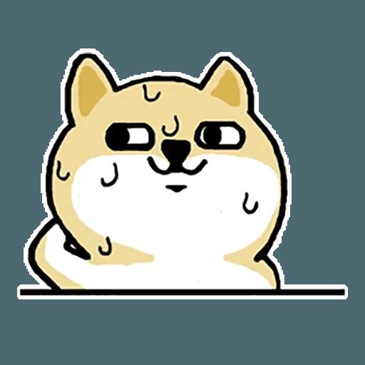 Fat Shiba 1 - Sticker 12
