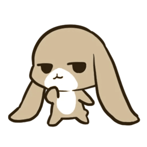rabbit - Sticker 24