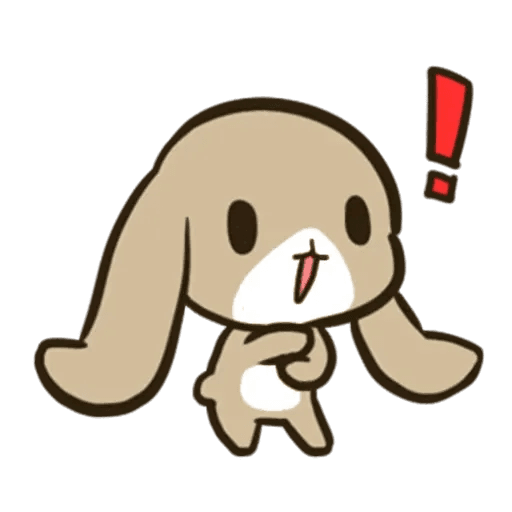 rabbit - Sticker 27