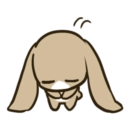 rabbit - Sticker 26