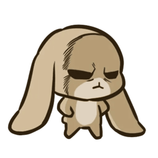rabbit - Sticker 29