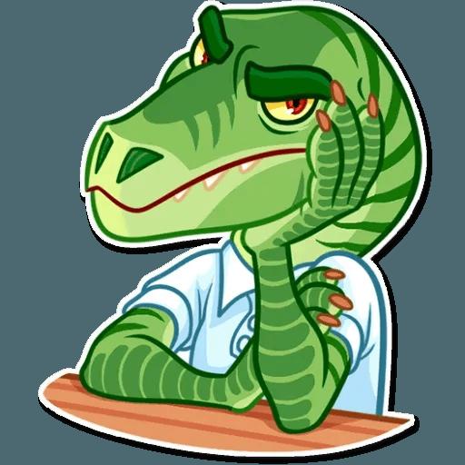 Velocirraptor - Sticker 14