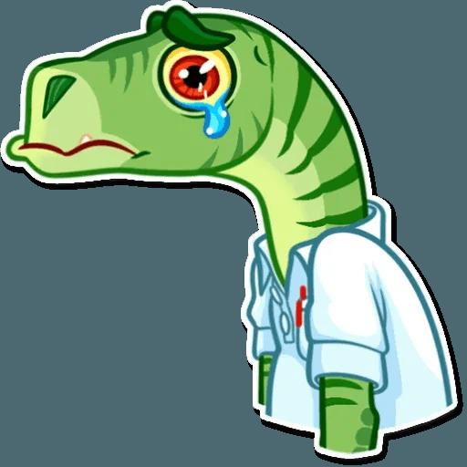 Velocirraptor - Sticker 20