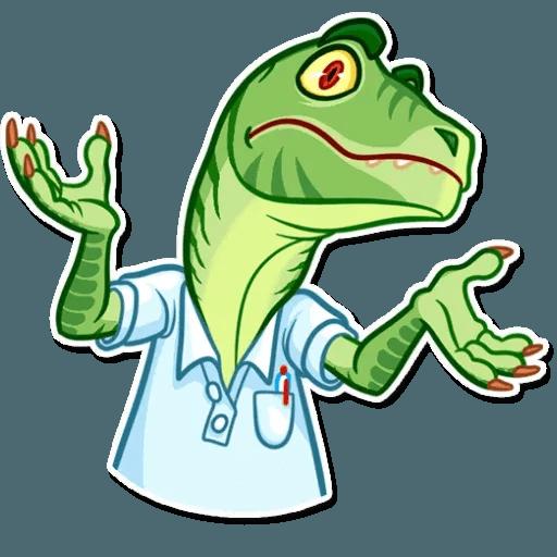 Velocirraptor - Tray Sticker