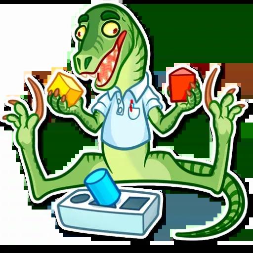 Velocirraptor - Sticker 18