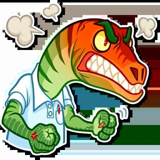Velocirraptor - Sticker 22