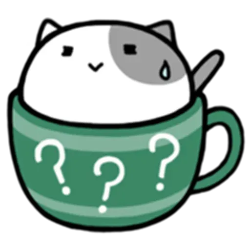 Cafe Cup - Sticker 13