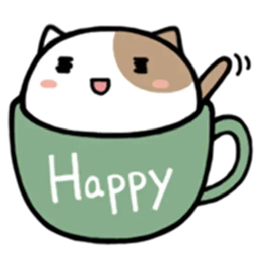 Cafe Cup - Sticker 7
