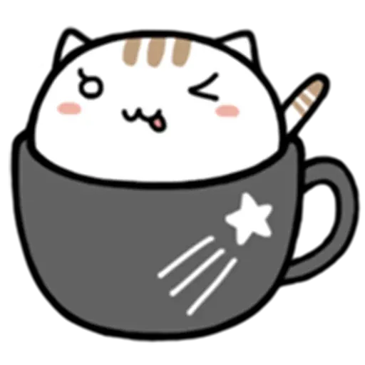 Cafe Cup - Sticker 18