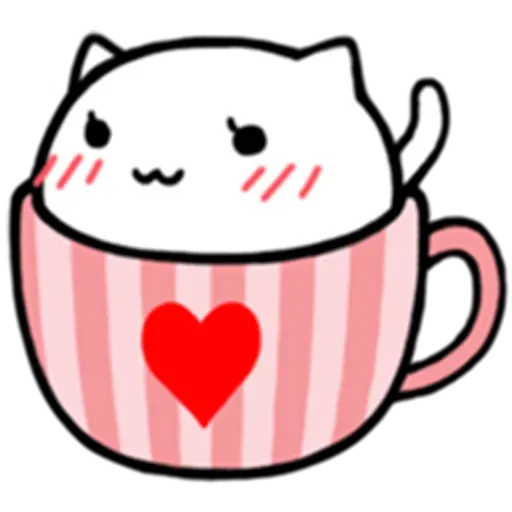 Cafe Cup - Sticker 14