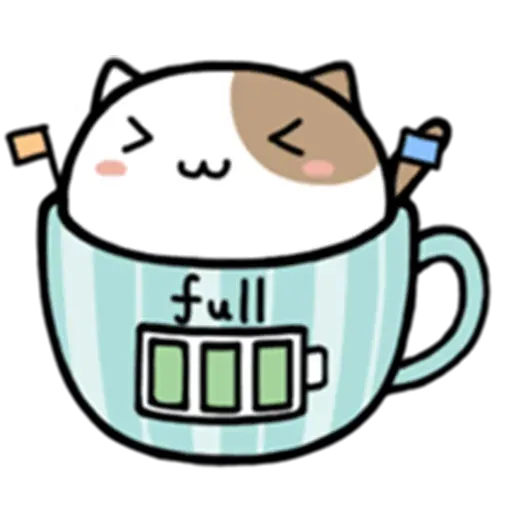 Cafe Cup - Sticker 20