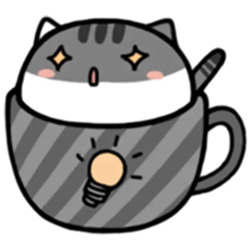 Cafe Cup - Sticker 25