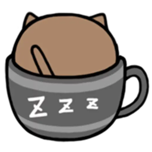Cafe Cup - Sticker 12