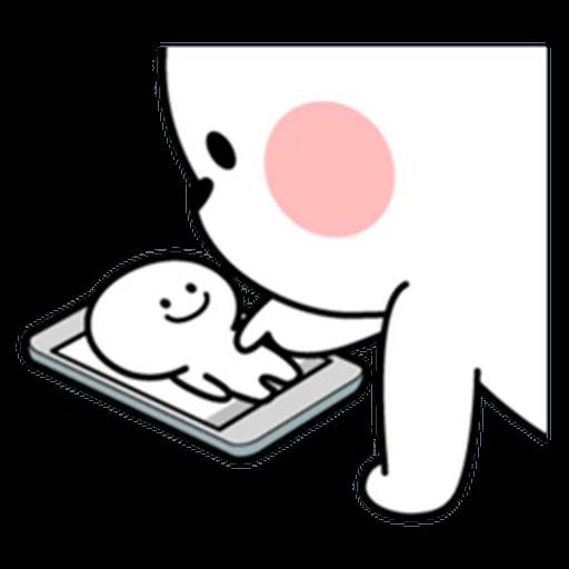 SmilePerson_SmallSmile_SeRaMo - Sticker 27