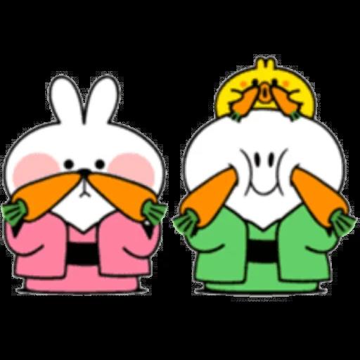 Christmas Spoiled Rabbits - Sticker 24