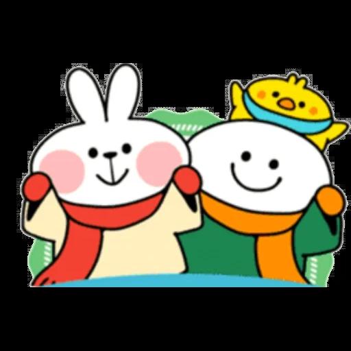 Christmas Spoiled Rabbits - Sticker 15