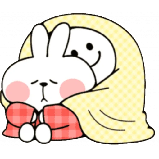 Christmas Spoiled Rabbits - Sticker 6