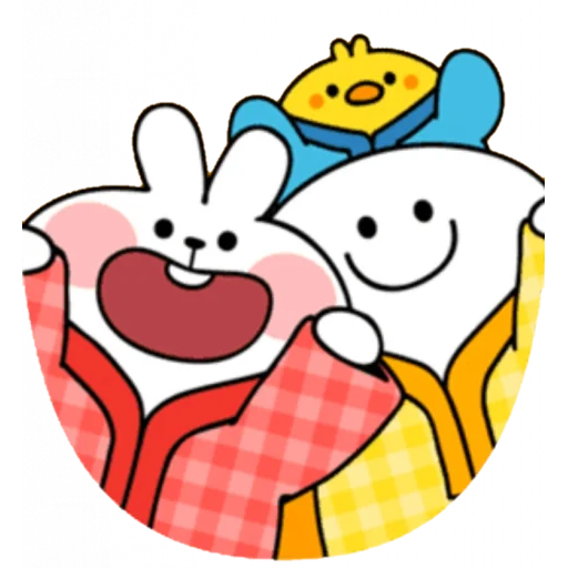 Christmas Spoiled Rabbits - Sticker 21