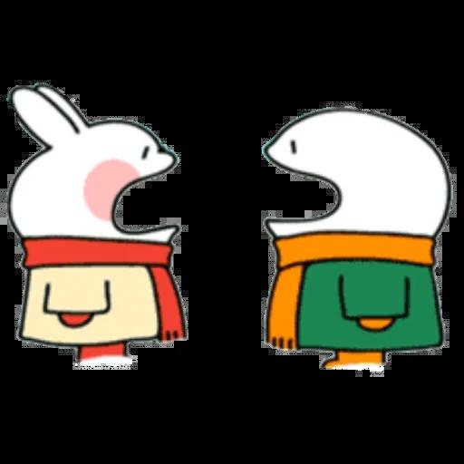 Christmas Spoiled Rabbits - Sticker 12