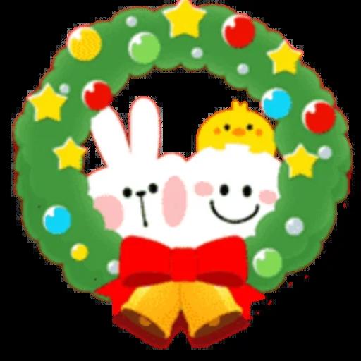 Christmas Spoiled Rabbits - Sticker 29