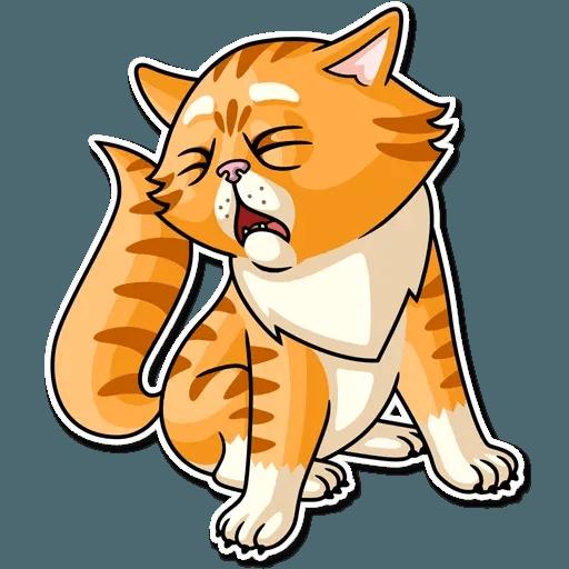 Striped Cat - Sticker 25