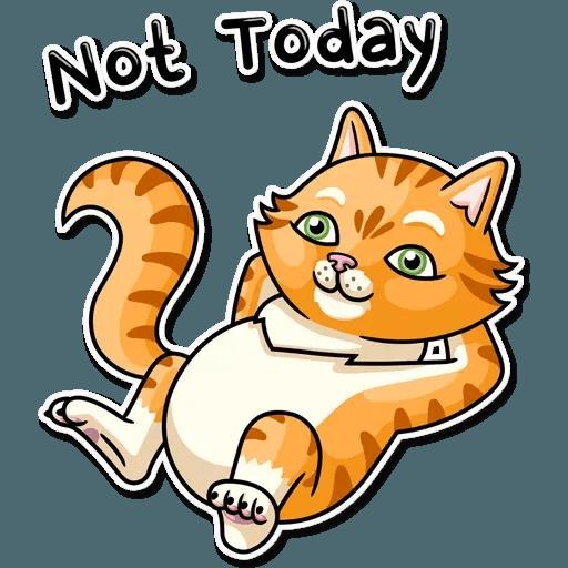 Striped Cat - Sticker 11