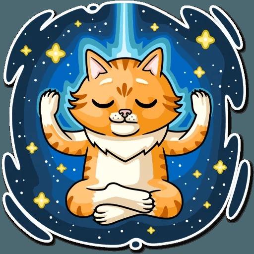 Striped Cat - Sticker 9