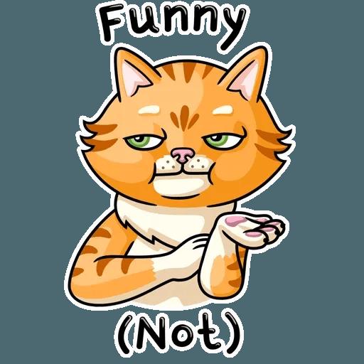 Striped Cat - Sticker 14