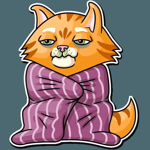 Striped Cat - Sticker 18
