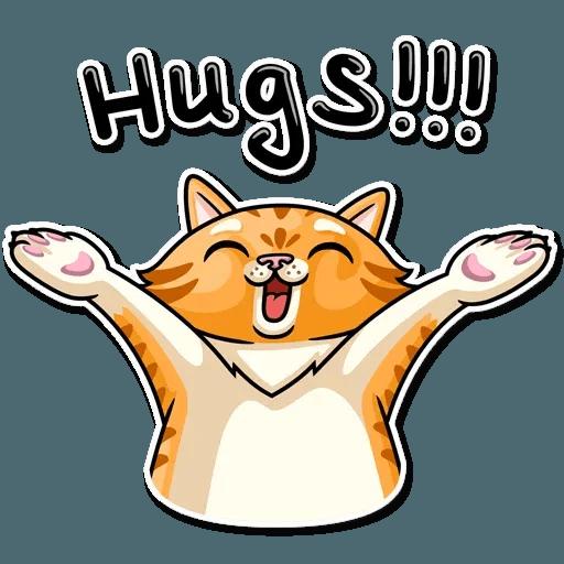 Striped Cat - Sticker 22