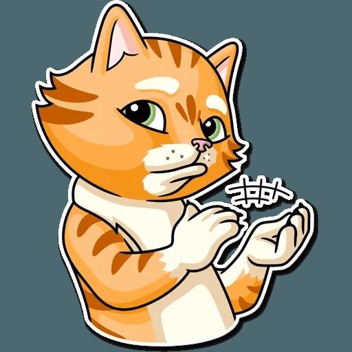 Striped Cat - Sticker 28