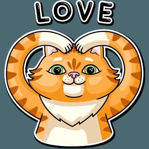 Striped Cat - Sticker 10