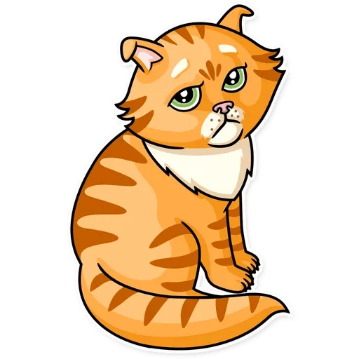 Striped Cat - Sticker 7