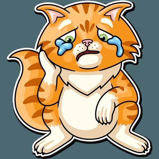 Striped Cat - Sticker 8