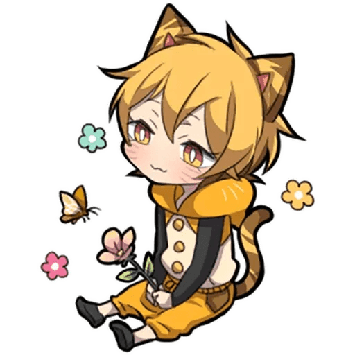 Tiger Kitten - Sticker 27
