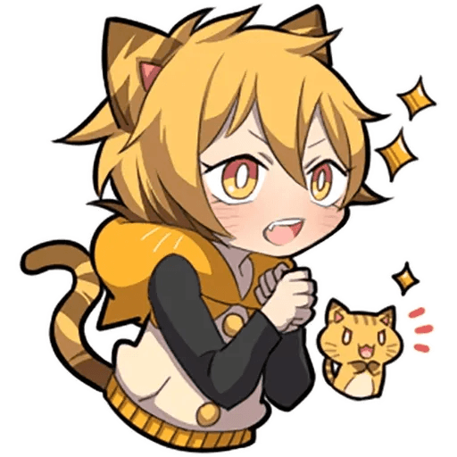 Tiger Kitten - Sticker 5