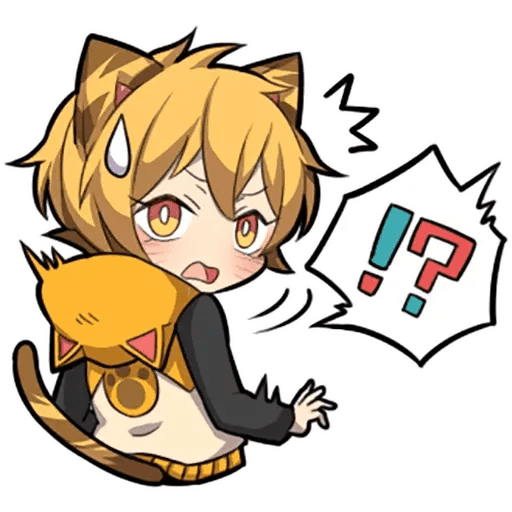 Tiger Kitten - Sticker 17