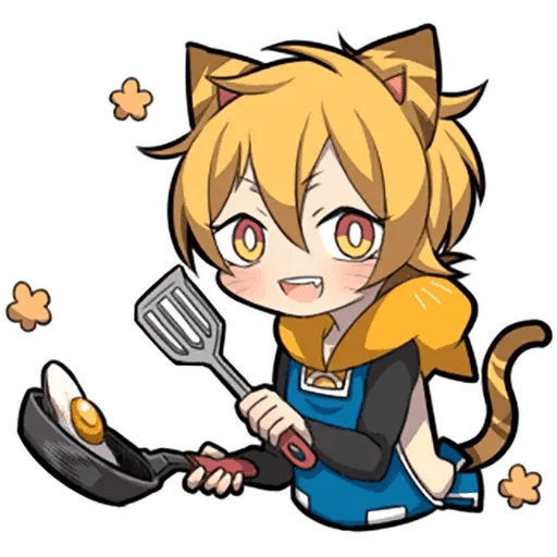 Tiger Kitten - Sticker 3