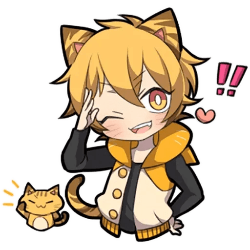 Tiger Kitten - Sticker 9