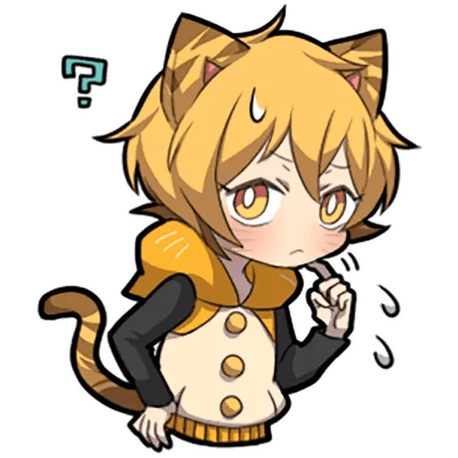 Tiger Kitten - Sticker 12