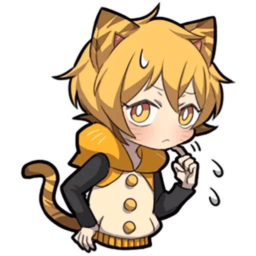 Tiger Kitten - Sticker 13