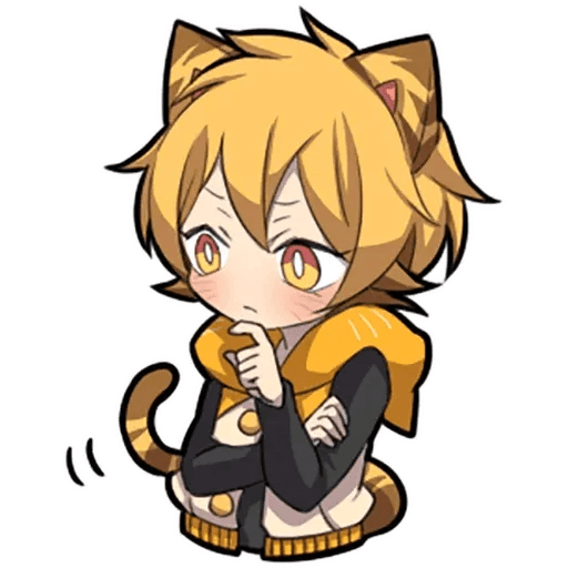 Tiger Kitten - Sticker 11