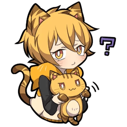 Tiger Kitten - Sticker 14