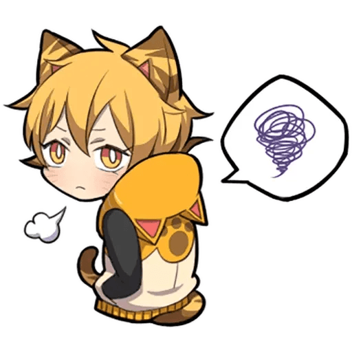 Tiger Kitten - Sticker 22