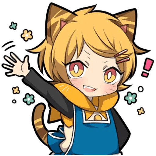 Tiger Kitten - Sticker 28