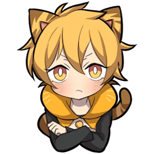 Tiger Kitten - Sticker 1
