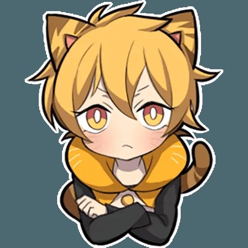 Tiger Kitten - Sticker 1
