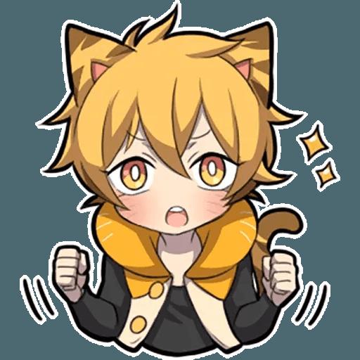 Tiger Kitten - Sticker 2