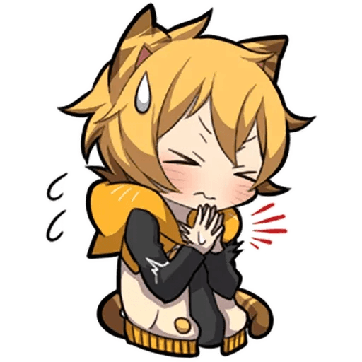 Tiger Kitten - Sticker 8