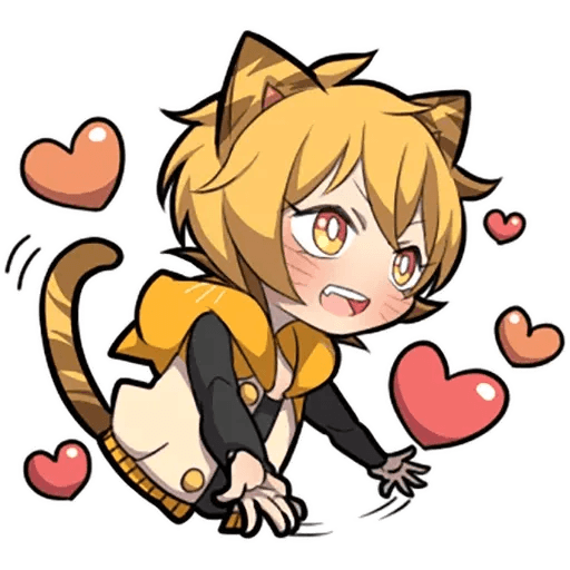 Tiger Kitten - Sticker 25